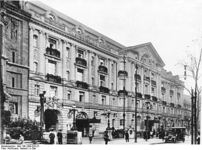 Berlin, Hotel Esplanade