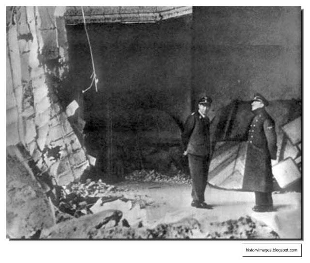 hitler-chief-gruppenfuhrer-schaub-inspect-damage-fuehrerbunker (1)